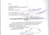Request For Shallow Well - Mwami Selya Sub- Village